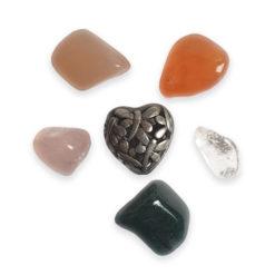 Erszények ásványokkal